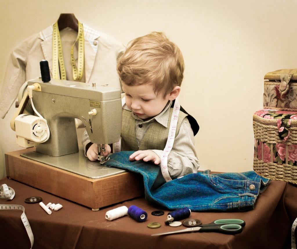 Открытки любые, смешные картинки про шитье одежды